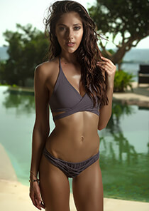 Wrap Bikini Top in Secret 277-6460-92100