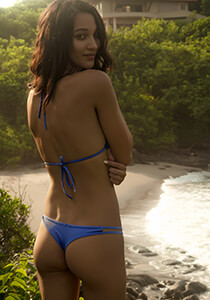 Hipster Thong in Sailor Blue 277-6500-23000