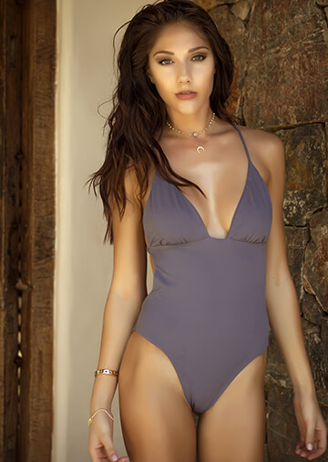 Monaco Ruched Cup One Piece in Secret 119-6460-62200