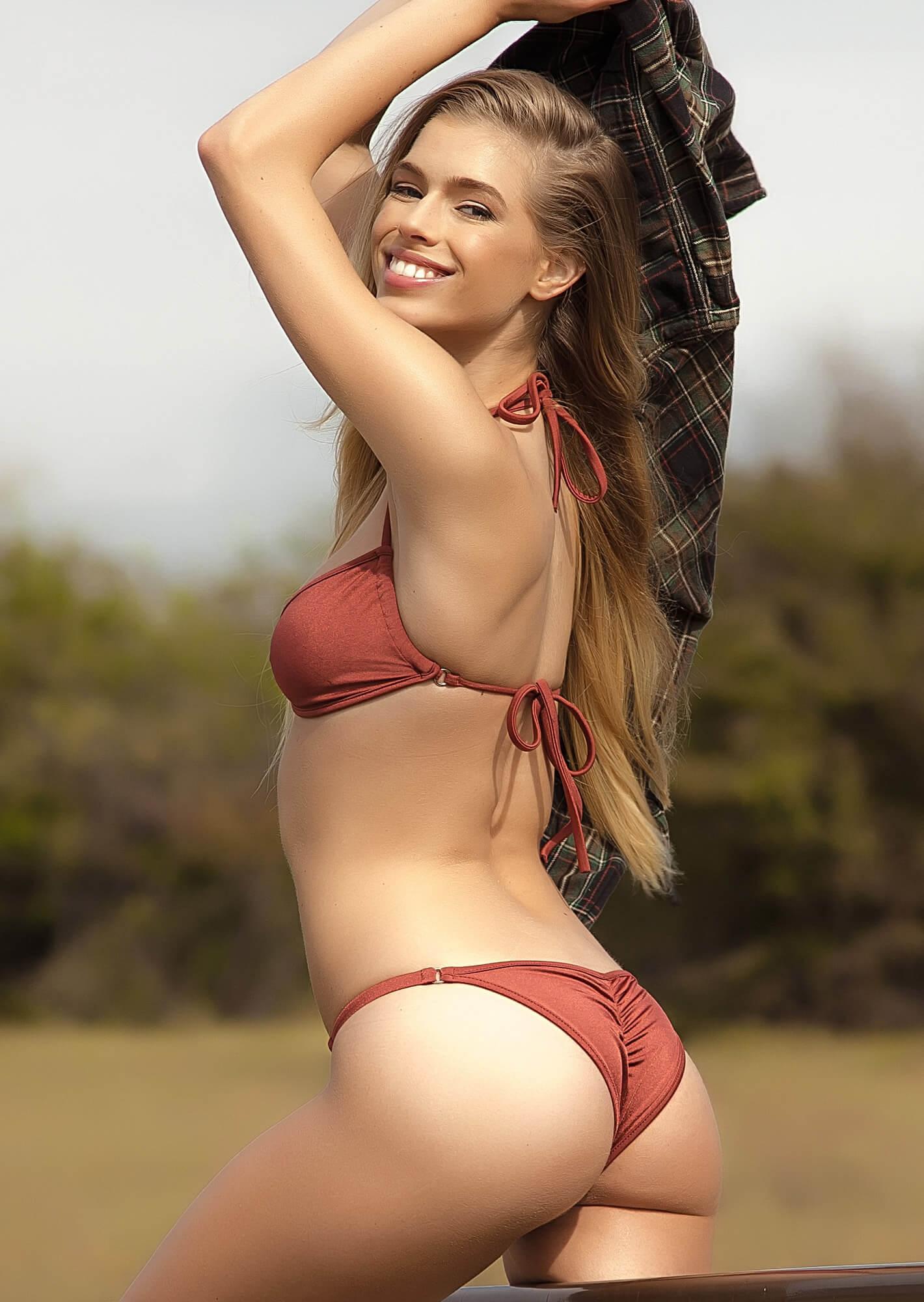Pucker butt bikini