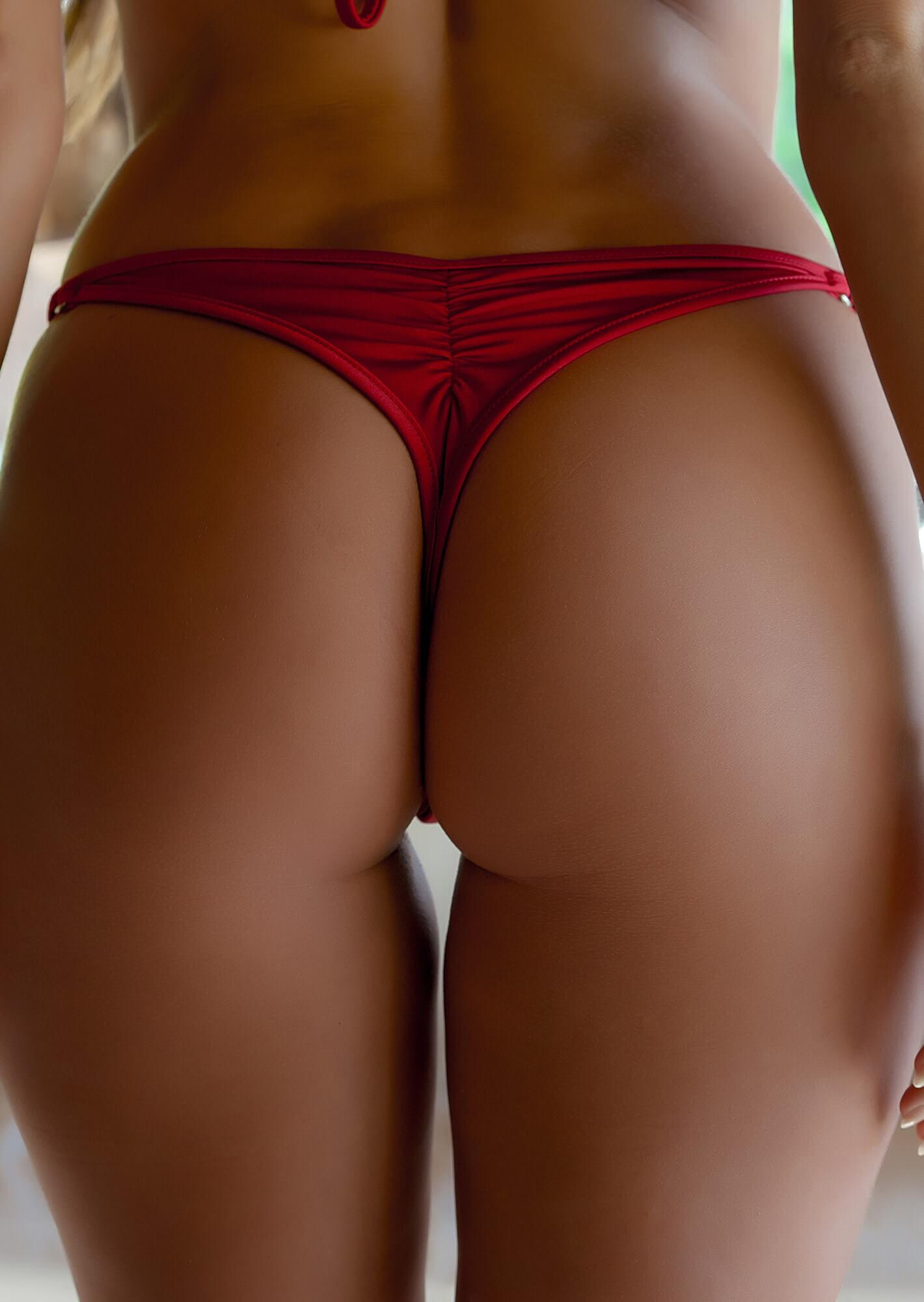 Bikini thong bottoms