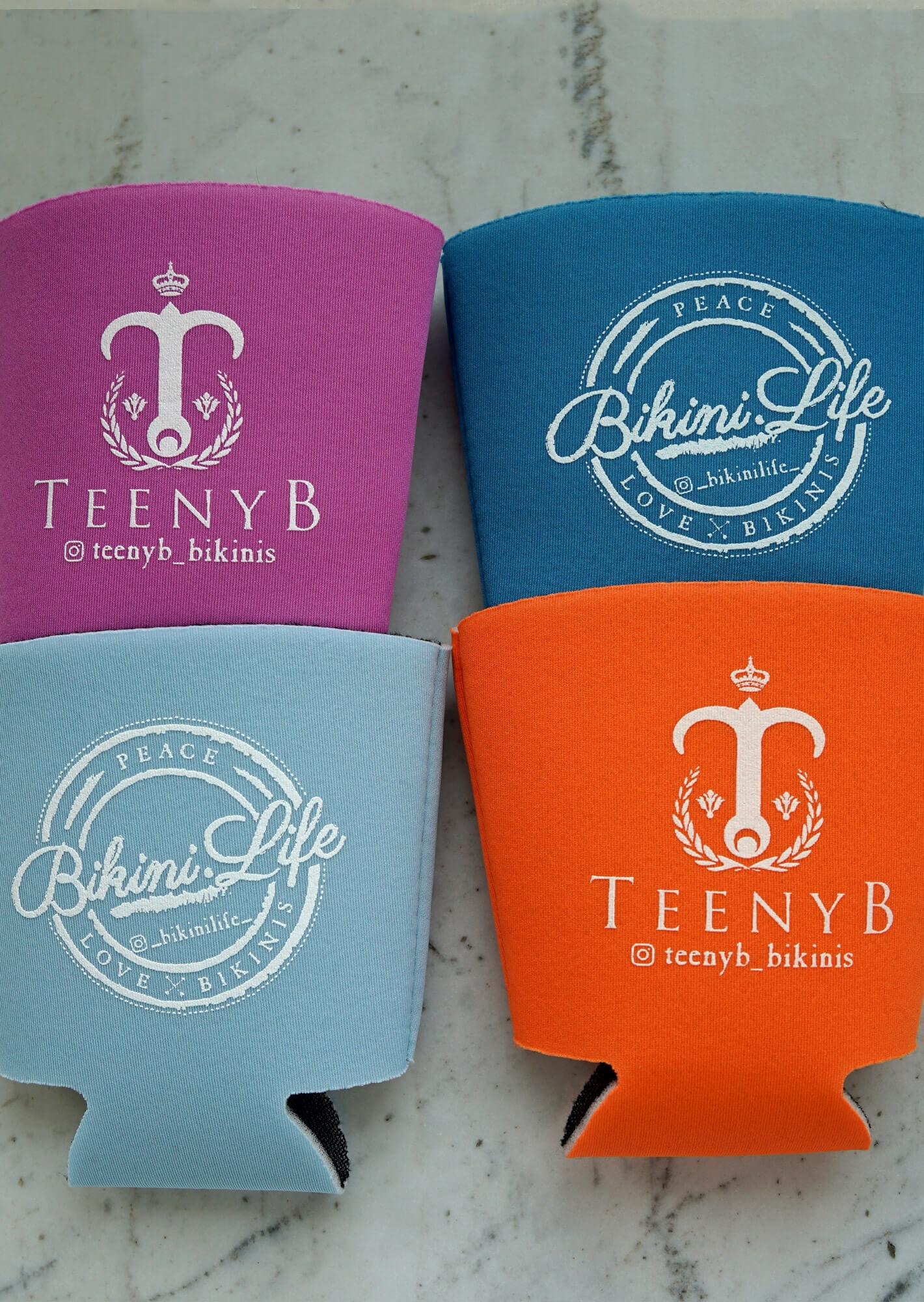 Keep Your Drinks Cool With Our Custom Teenyb Amp Bikini Life