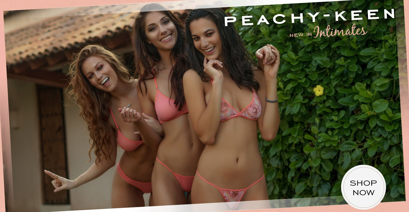Peachy Keen - new in Intimates