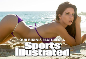 Our bikinis featured in Sports Illustrated Swim