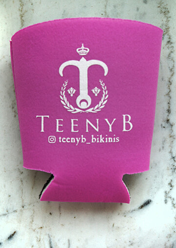 TeenyB Logo Insulated Can Holder 101-0034-1420