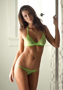Brazilian Full Pucker Panty in Mela Verde 120-5050-14500