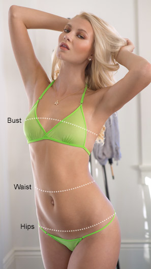Bra Sizing Measurements
