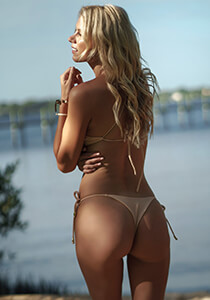 Seamless String Cheeky Thong in Dusty Nude 277-6540-31900