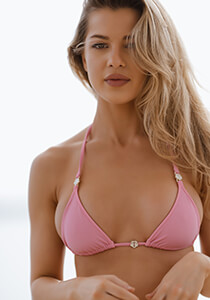 Bliss Enhanced Cut Triangle in Pink Peony 336-6680-72000
