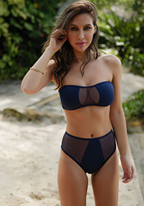 Mesh Bandeau in Navy 277-6320-81400