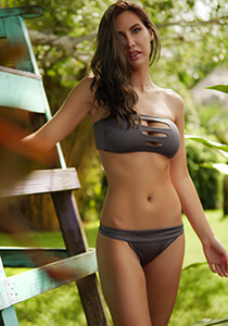 Bandeau Cutout in Basalt 277-7380-81500