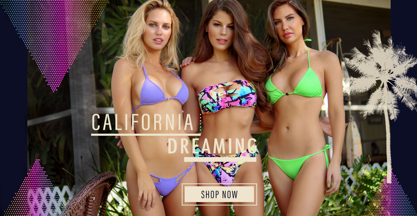 California Dreaming Swimwear Collection