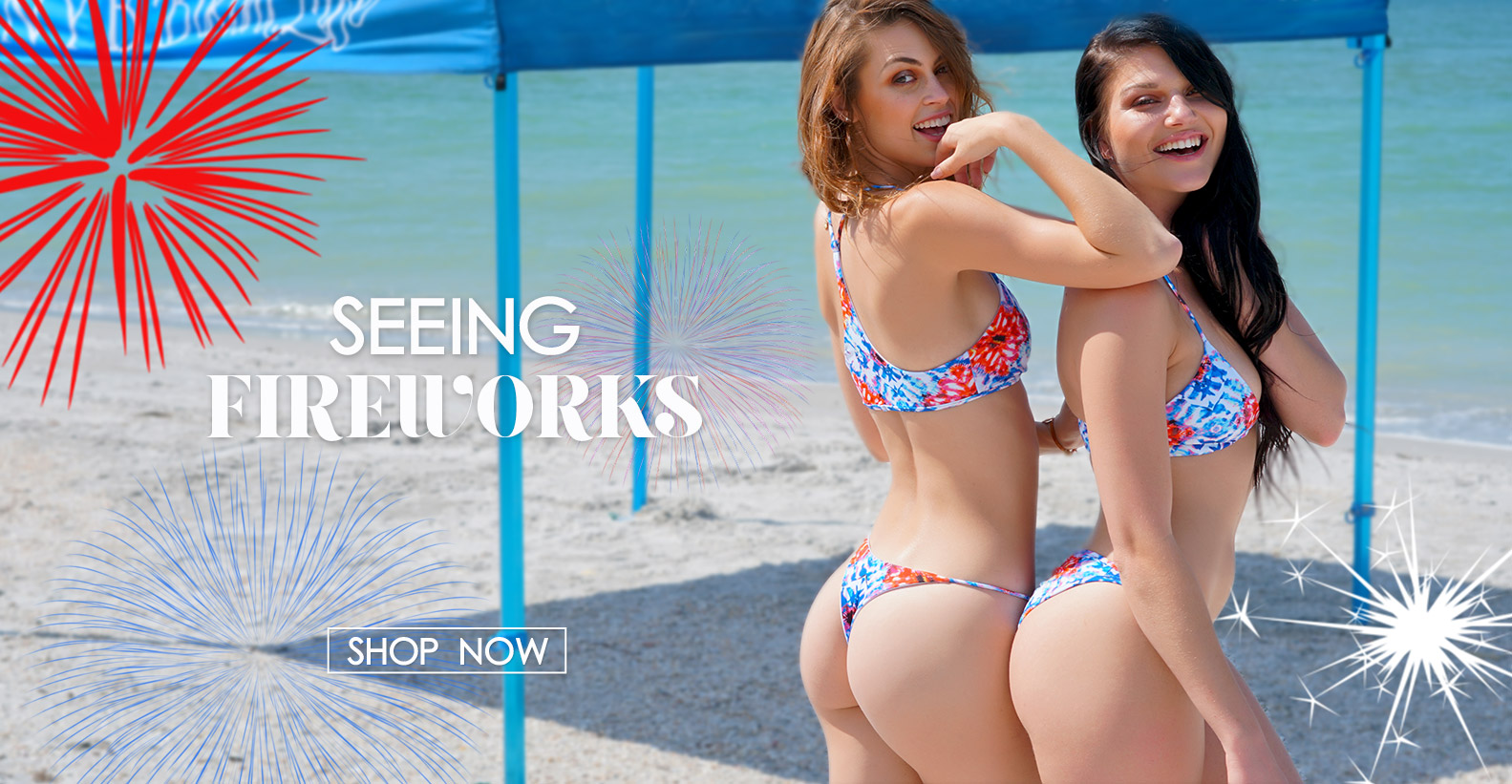 Seeing Fireworks Swimwear Collection