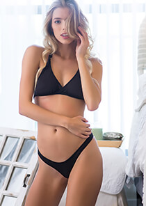 Hipster Thong Panty in Black 120-5020-13000