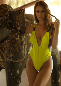 Tulum Plunge One Piece - Beat with Slate Gliss 119-1700-62000